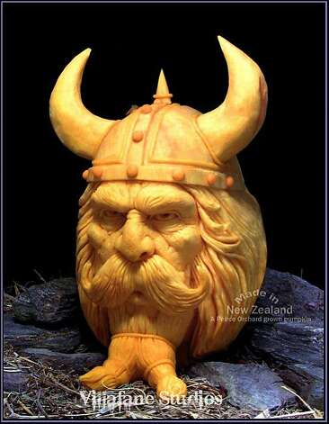 Incredible (and freaky!) pumpkin carvings - SFGate