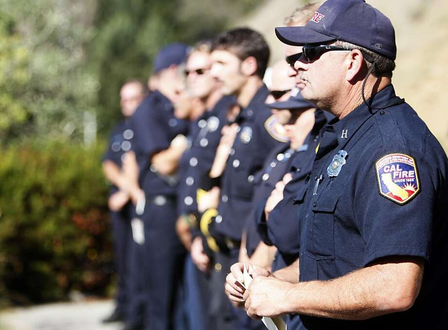 Politicians, public safety officials, and residents gather at the Gateway Emergency Preparedness Exhibit Center for the 20th anniversary of the Oakland Hills Firestorm in Oakland, Calif. Oct. 22, 2011. Photo: Tim Maloney, The Chronicle