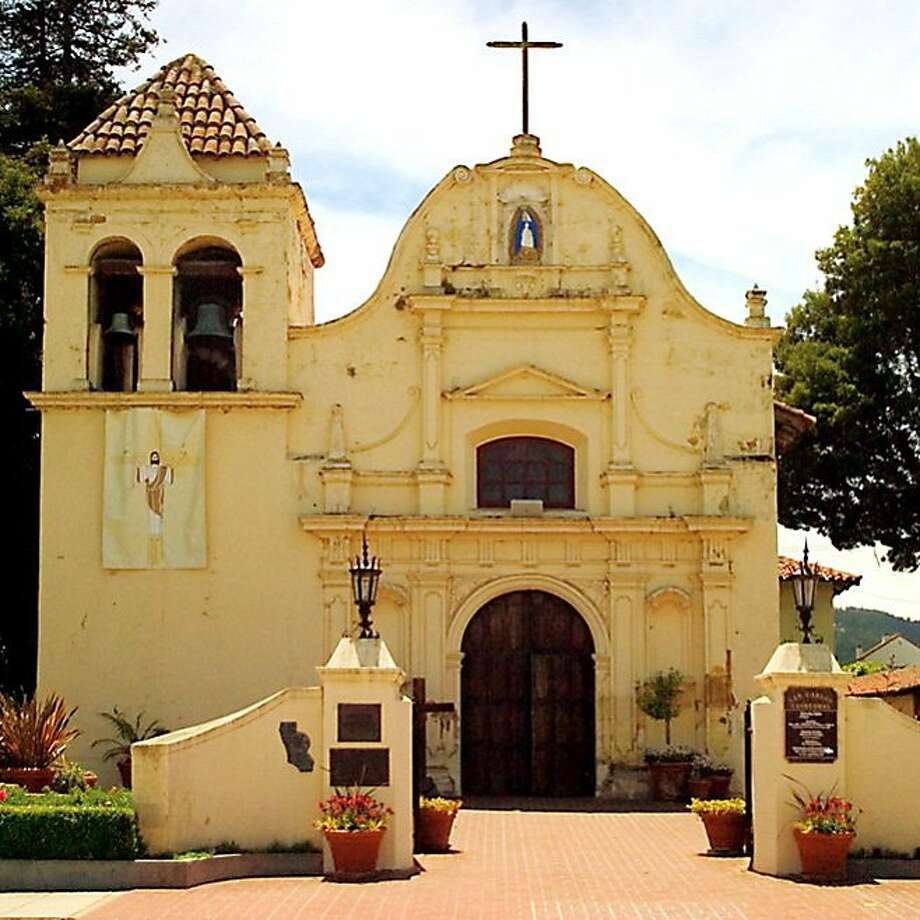 Construction on San Carlos Cathedral, part of Carmel's original mission and repurposed as the Presidio's Royal Presidio Chapel, began in 1791, making it the oldest building on the Monterey Peninsula. Still in use today, its congregation includes the ghosts of early parishioners who were lonely for their homes in Europe.   Carmel, Monterey County - Construction on San Carlos Cathedral, part of Carmel's original mission and repurposed as the Presidio's Royal Presidio Chapel, began in 1791, making it the oldest building on the Monterey Peninsula. Still in use today, its congregation includes the ghosts of early parishioners who were lonely for their homes in Europe.   credit: Courtesy Monterey County CVB Photo: Monterey County CVB