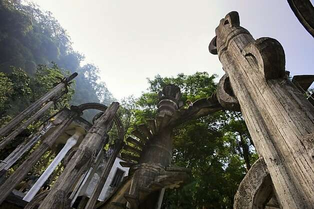 Las Pozas (formerly El Jardin Surrealisa de Edward James) Xilitla, San Luis Potosi, Mexico Photo: Ricardo Espinosa, Mexico Tourism Board