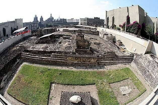 Mexico City -- The capital's historic center is the repository of seven centuries of architectural heritage. The Templo Mayor, adjacent to the zocalo, was part of the 14th-century Aztec capital.  credit: mexicocityexperience.com Photo: Mexicocityexperience.com