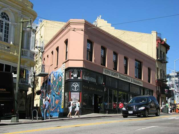 City Lights Bookstore is an architectural landmark, but for cultural reasons.  Ran on: 05-02-2011 City Lights Bookstore is an architectural landmark, but for cultural reasons. Photo: John King