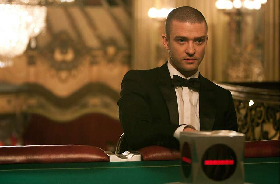 """In this film image released by 20th Century Fox, Justin Timberlake is shown in a scene from """"In Time."""" (AP Photo/20th Century Fox, Stephen Vaughan) Photo: Stephen Vaughan, 20th Century Fox"""
