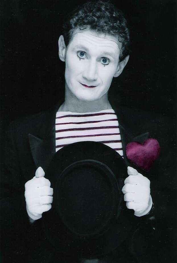 Derek the Mime is one of the featured entertainers at the Harvest Festival. Photo: Courtesy Of Derek The Mime