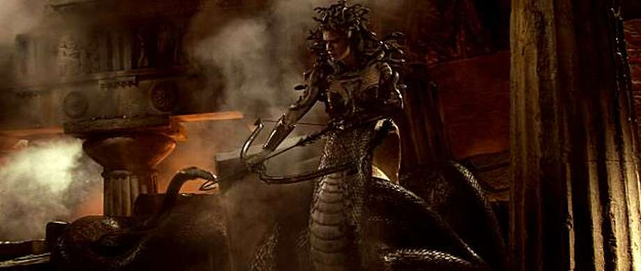 Medusa from a scene in Warner Bros. PicturesÕ and Legendary PicturesÕ ÒThe Clash of the Titans,Ó distributed by Warner Bros. Pictures. Photo: Courtesy Of Warner Bros. Picture, Warner Bros. Entertainment Inc.