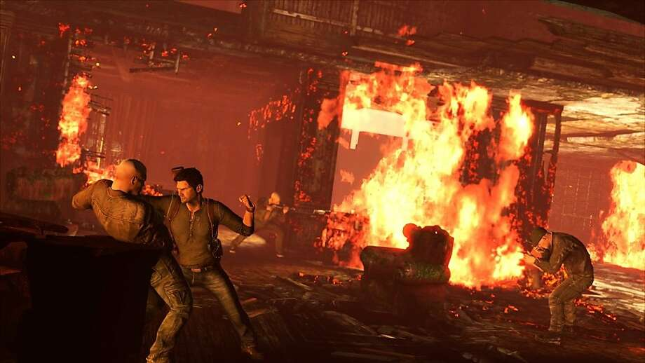"""From """"Uncharted 2: Among Thieves."""" Photo: Voce Communications"""