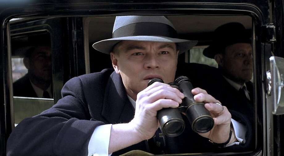 "In this image released by Warner Bros. Pictures, Leonardo DiCaprio portrays J. Edgar Hoover in a scene from ""J Edgar."" (AP Photo/Warner Bros. Pictures) Photo: AP"