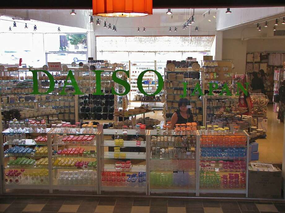 If you've never been to Daiso, prepare for a slightly overwhelming experience. The shelves are packed with all sorts of colorful, cheap goods. You may want to buy everything you see. Restraint is key.  Photo: Stephanie Wright Hession