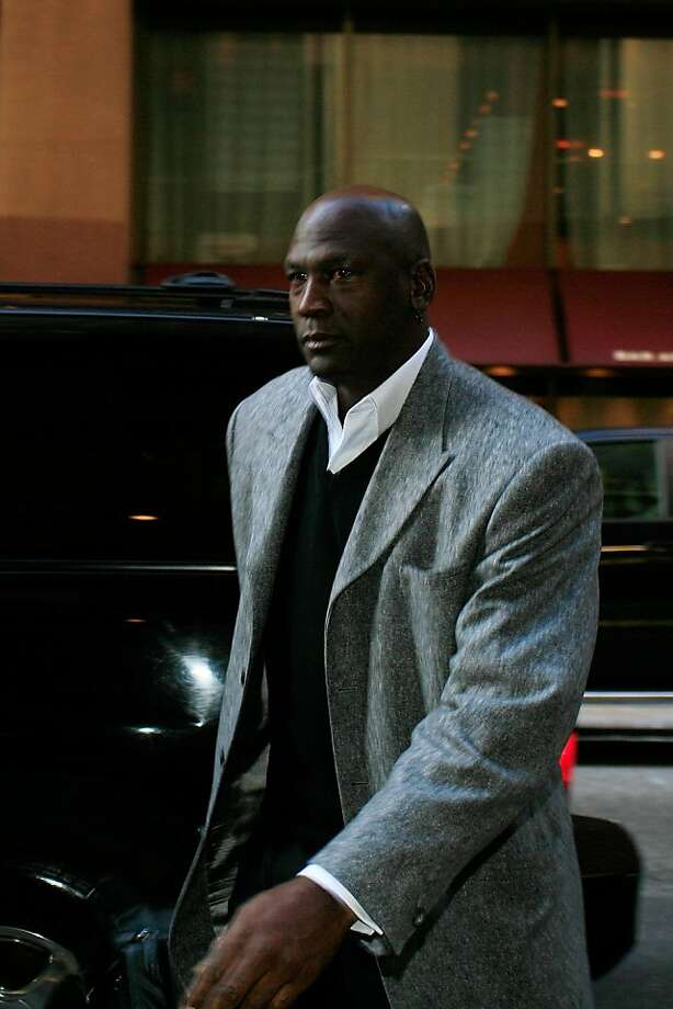 NEW YORK, NY - NOVEMBER 05:  Charlotte Bobcats owner Michael Jordan arrives for NBA labor negotiations at Sheraton New York Hotel & Towers on November 5, 2011 in New York City. Players have been seeking 52.5 percent of revenues in their favor but owners want a deal at 53-47 along with a hard sallary cap.  (Photo by Patrick McDermott/Getty Images) Photo: Patrick McDermott, Getty Images