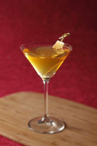 The Chinatown cocktail as seen in San Francisco, California, on October 26, 2011. Drink  styled by Sarah Fritsche. Photo: Craig Lee, Special To The Chronicle