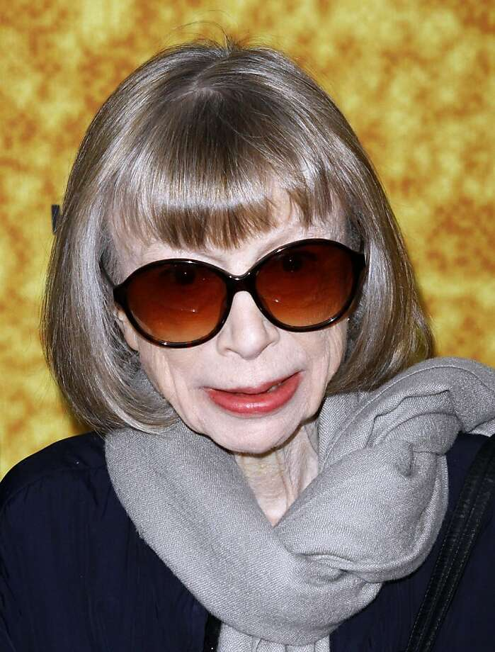 """Joan Didion, shown at a premiere on October 6, 2011, has a new book """"Blue Nights"""" ($25 from Alfred A. Knopf). (Donna Ward/Abaca Press/MCT) Photo: Donna Ward, MCT"""