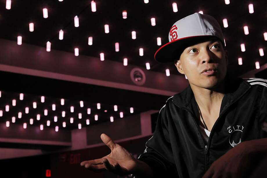 DJ Qbert, seen here on Thursday, September 23, 2010  at video game release party in San Francisco, Calif., was born in Daly City and developed his turntable skills as a student at Balboa High School. He's one of the premiere turntablists in the world, considered by some to be the Jimi Hendrix of mixing and scratching. He's also a consultant on the DJ Hero video game and it's sequel DJ Hero 2 which is to be released soon. Photo: Carlos Avila Gonzalez, The Chronicle