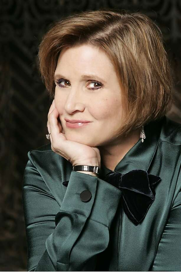 Carrie Fisher Photo: Michael Lamont