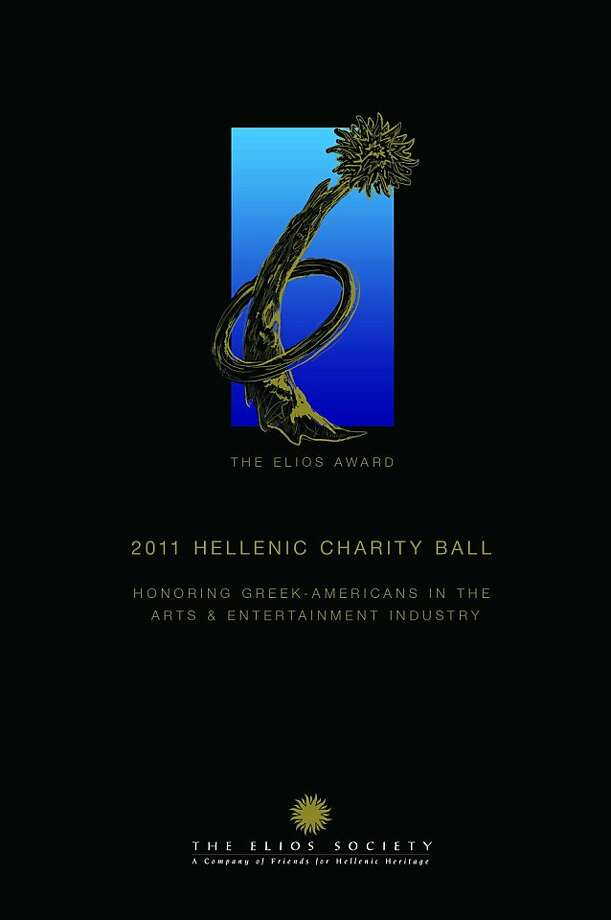 The Hellenic Charity Ball  Honoring Greek-Americans in the arts and entertainment industry.   Saturday, November 12, 2011 Fairmont Hotel Cocktail Reception 6pm. Formal Dinner and Award Show 7pm After-Party with Greek Band, American Band and dancing until 1am. Photo: The Elios Society