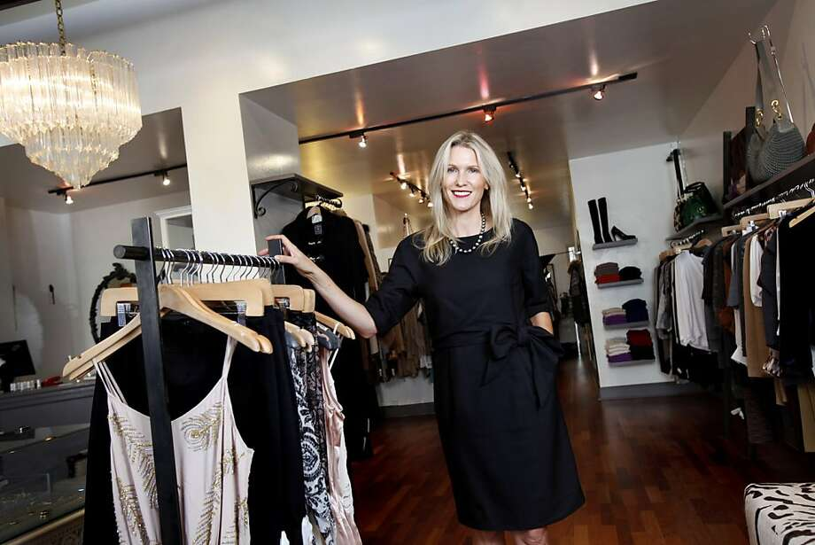 Heidi Sabelhaus Myers, owner of HeidiSays, is celebrating the 10-year anniversary of her first boutique on Fillmore St. in San Francisco, Calif., Wednesday, October 12, 2011. Photo: Sarah Rice, Special To The Chronicle