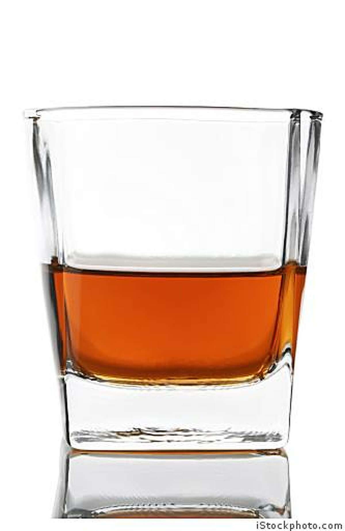 A glass of whisky. iStockphoto.com