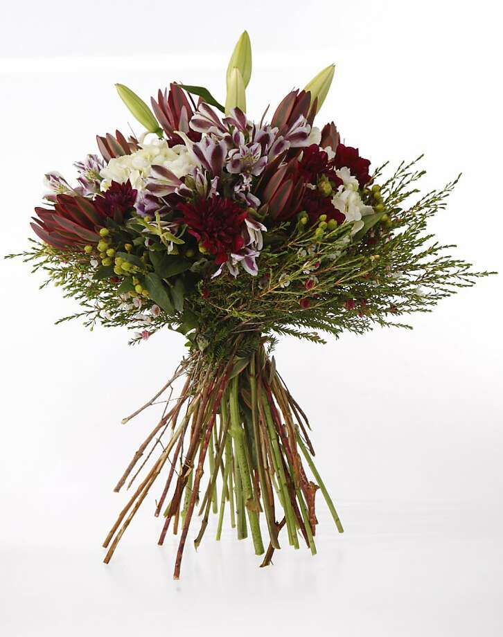 A European Hand Tied bouquet is seen on Thursday, Sep. 8, 2011 in San Francisco, Calif. Photo: Russell Yip, The Chronicle