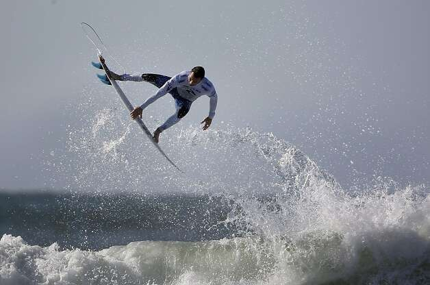Joel Parkinson of Australia surfs in the finals of the Rip Curl Pro Search surfing competition at Ocean Beach on Monday, November 7, 2011 in San Francisco, Calif. Photo: Lea Suzuki, The Chronicle
