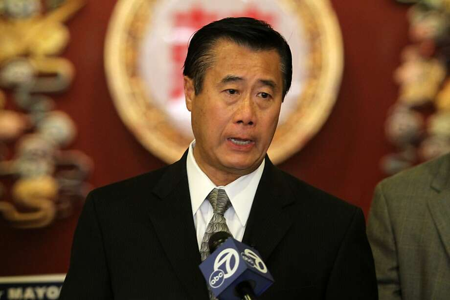 San Francisco mayoral candidate State Sen. Leland Yee, D-San Franicsco, talks about alleged voting fraud by acting San Francisco Mayor and fellow mayoral candidate Ed Lee during a new conference on Monday, Oct. 24, 2001, in San Francisco, Calif. Ran on: 11-06-2011 Photo caption Dummy text goes here. Dummy text goes here. Dummy text goes here. Dummy text goes here. Dummy text goes here. Dummy text goes here. Dummy text goes here. Dummy text goes here.<137,1970-12-18-17-21-52,><252>###Photo: insight06_diaz_PH<252>1319241600<252>SFC<252>###Live Caption:San Francisco mayoral candidate State Sen. Leland Yee, D-San Franicsco, talks about alleged voting fraud by acting San Francisco Mayor and fellow mayoral candidate Ed Lee during a news conference on Monday, Oct. 24, 2001, in San Francisco, Calif.###Caption History:San Francisco mayoral candidate State Sen. Leland Yee, D-San Franicsco, talks about alleged voting fraud by acting San Francisco Mayor and fellow mayoral candidate Ed Lee during a new conference on Monday, Oct. 24, 2001, in San Francisco, Calif.###Notes:###Special Instructions:**MANDATORY CREDIT FOR PHOTOG AND SF CHRONICLE-NO SALES-MAGS OUT-TV OUT-INTERNET: AP MEMBER NEWSPAPERS ONLY**<137><252> Ran on: 11-06-2011 Photo caption Dummy text goes here. Dummy text goes here. Dummy text goes here. Dummy text goes here. Dummy text goes here. Dummy text goes here. Dummy text goes here. Dummy text goes here.<137,1970-12-18-17-21-52,><252>###Photo: insight06_diaz_PH<252>1319241600<252>SFC<252>###Live Caption:San Francisco mayoral candidate State Sen. Leland Yee, D-San Franicsco, talks about alleged voting fraud by acting San Francisco Mayor and fellow mayoral candidate Ed Lee during a news conference... Photo: Mathew Sumner, Special To The Chronicle