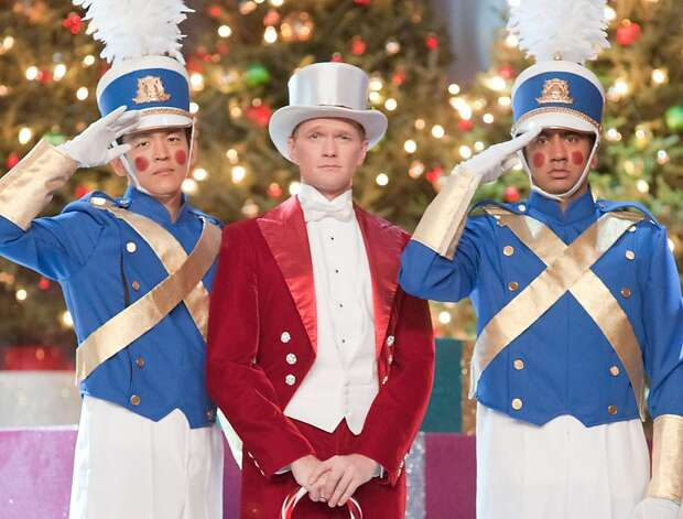 "(L-r) JOHN CHO as Harold, NEIL PATRICK HARRIS as NPH and KAL PENN as Kumar in New Line Cinema's and Mandate Pictures' comedy ""A VERY HAROLD & KUMAR 3D CHRISTMAS,"" a Warner Bros. Pictures release. (L-r) JOHN CHO as Harold, NEIL PATRICK HARRIS as himself and KAL PENN as Kumar in New Line Cinema's and Mandate Pictures' comedy ""A VERY HAROLD & KUMAR 3D CHRISTMAS,"" a Warner Bros. Pictures release.Photo by Darren Michaels  Ran on: 10-30-2011 John Cho (left) portrays Harold, Neil Patrick Harris is NPH and Kal Penn plays Kumar in the holiday comedy &quo;A Very Harold & Kumar 3-D Christmas,&quo; opening Friday in Bay Area theaters. Photo: Warner Bros."