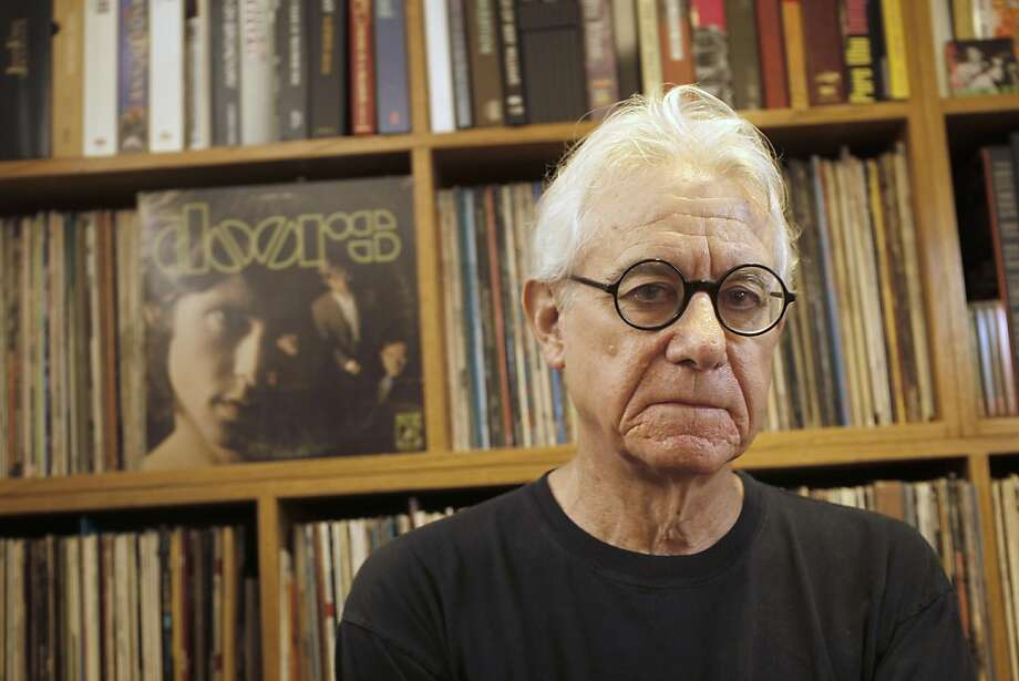 Pop culture author Greil Marcus, in Oakland, Ca., on Thursday August 25, 2011, has come out with a book of criticism on the Doors. Photo: Michael Macor, The Chronicle