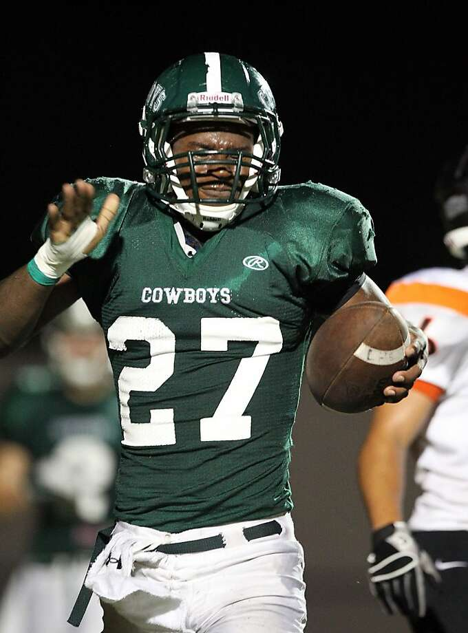 Livemore senior running back DeMariay Drew Photo: Dennis Lee, MaxPreps.com