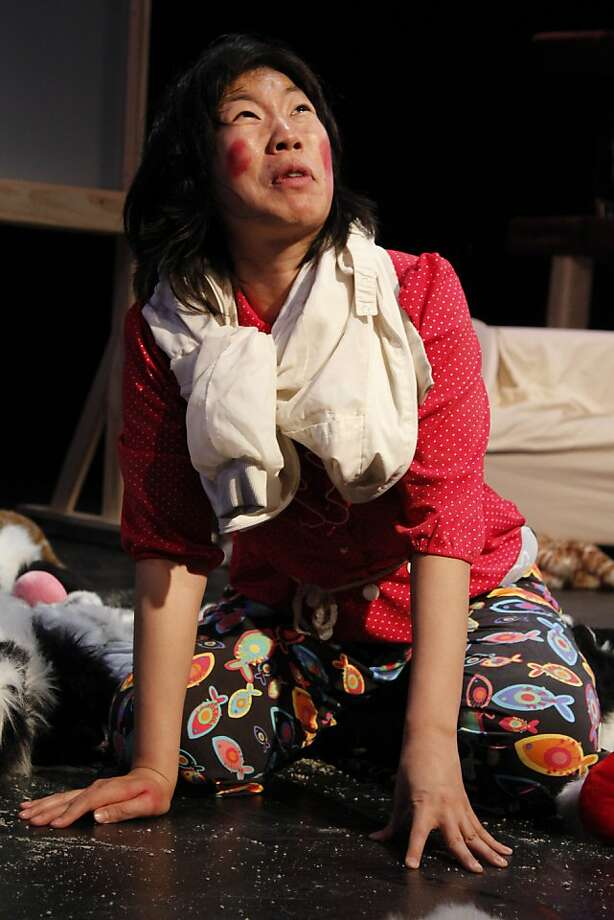 "Kristina Wong in ""Cat Lady"" Photo: Mark Francis"