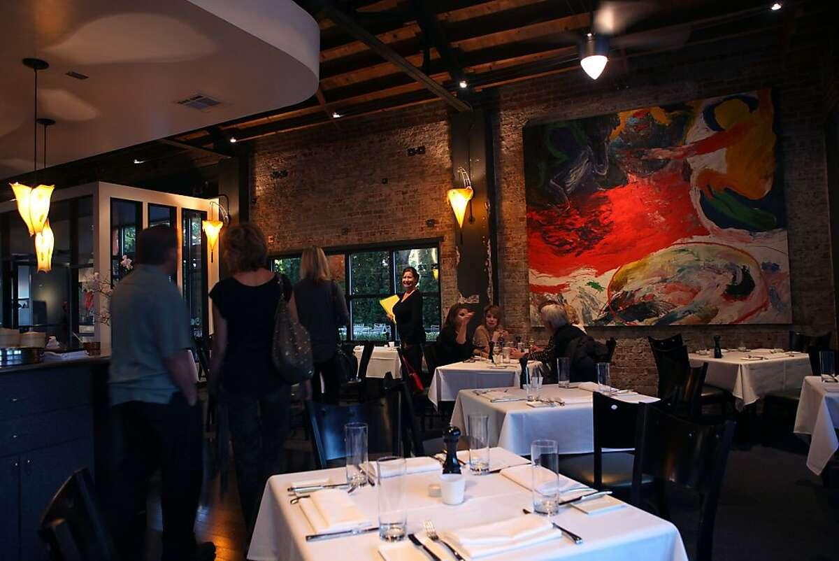 LuLou's restaurant as dinner starts in Reno, Nevada, on Wednesday, October 13, 2011.