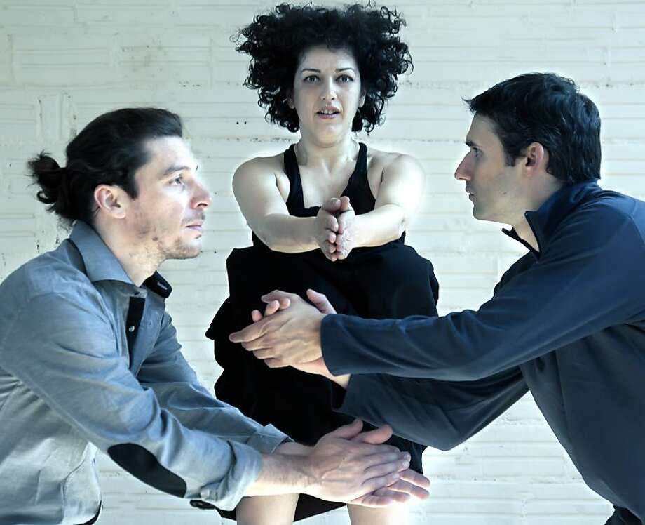 Greece's Kantu Korpu make their US debut tomorrow night at  Yerba Buena Center for the Arts as part of the 4th International Body  Music Festival. Photo: Simone Mongelli, International Body Music Festiva