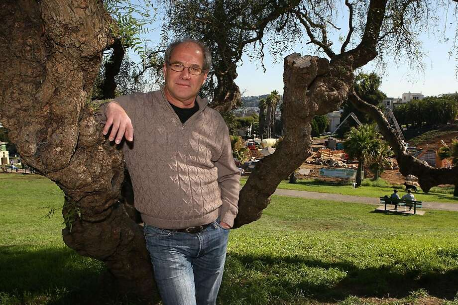 Geoff Koziol, a UC Berkeley history professor who's lived in the Dolores park neighborhood since 2002, talks about changes in Dolores park congestion and politics in San Francisco, Calif., on Wednesday, October 26, 2011. Photo: Liz Hafalia, The Chronicle
