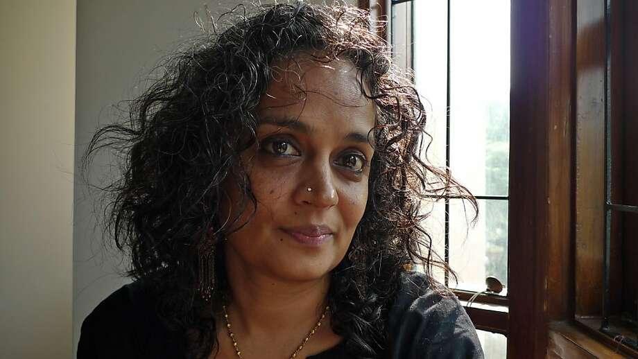 Arundhati Roy Photo: Sanjay Kak