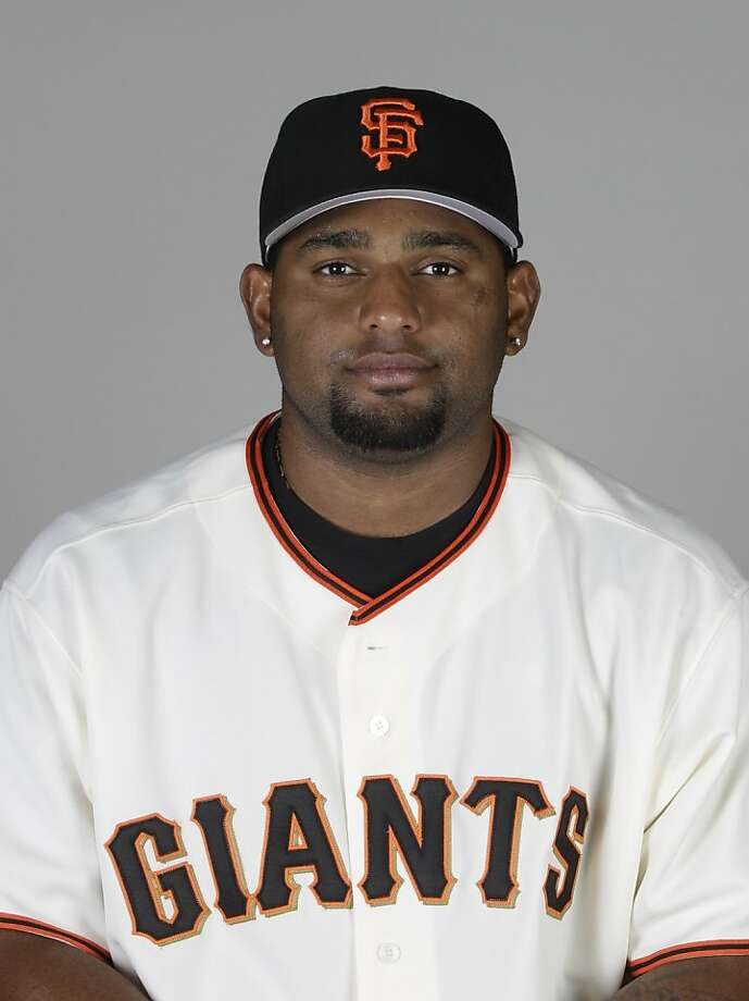 This is a 2011 photo of Pablo Sandoval of the San Francisco Giants baseball team. This image reflects the San Francisco Giants active roster as of  Wednesday, Feb. 23, 2011 when this image was taken.  (AP Photo/Marcio Jose Sanchez) Photo: Marcio Jose Sanchez, AP