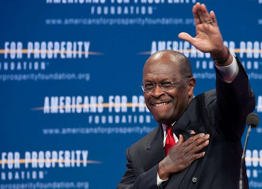 "US Republican presidential hopeful Herman Cain arrives to address the ""Defending The American Dream Summit"" organized by the conservative Americans For Prosperity (AFP) foundation in Washington on November 4, 2011. The sex scandal engulfing Cain does not matter when picking a White House candidate, seven in 10 party supporters said in a poll published November 4.      AFP PHOTO/Nicholas KAMM (Photo credit should read NICHOLAS KAMM/AFP/Getty Images) Photo: Nicholas Kamm, AFP/Getty Images"
