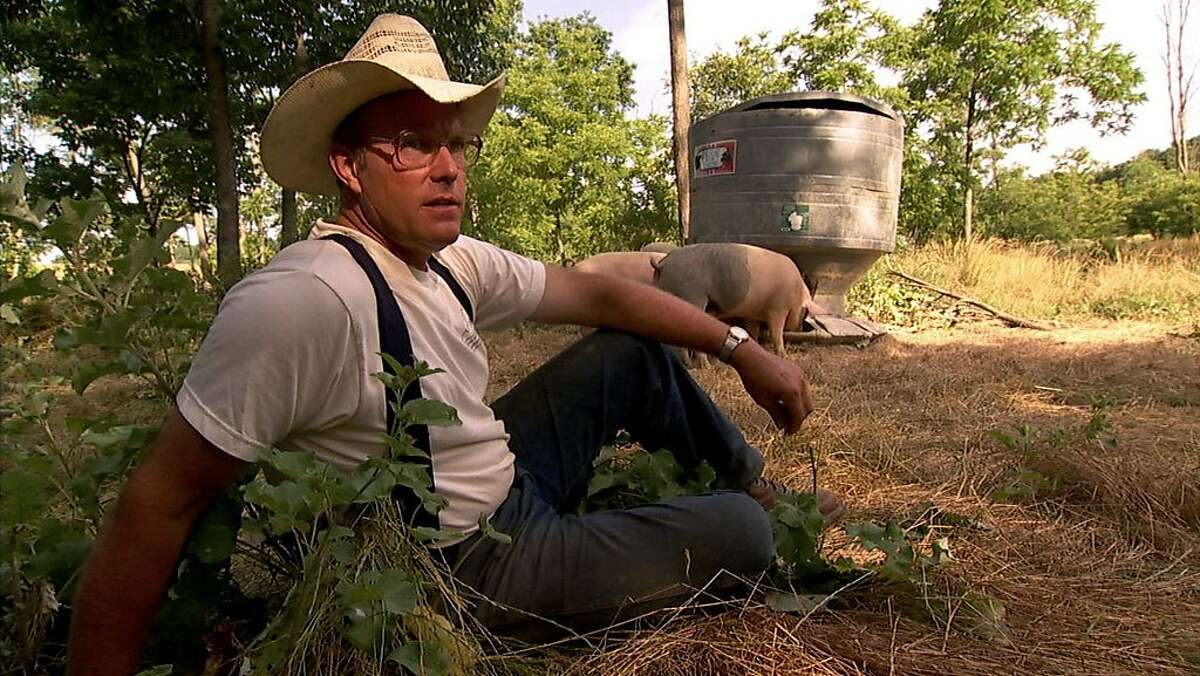 Joel Salatin in FOOD, INC., a Magnolia Pictures release.
