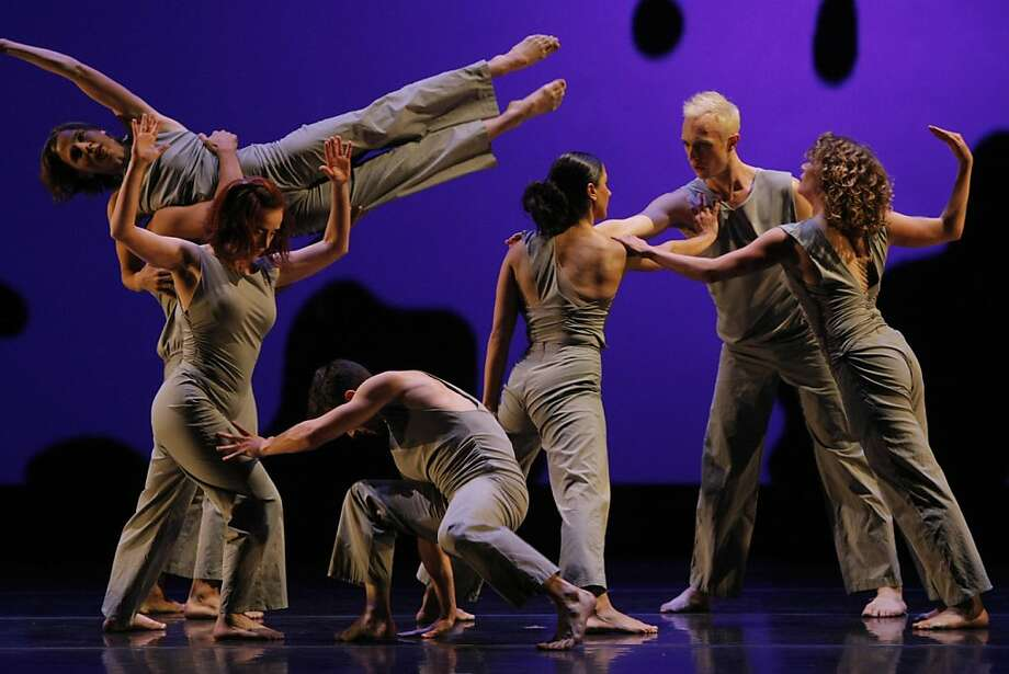 "From ""Light Moves"", performed by the Margaret Jenkins Dance Company, in the Novellus Theater at Yerba Buena Center for the Arts in San Francisco , Calif., on Wednesday, Nov. 2, 2011. Photo: Dylan Entelis, The Chronicle"