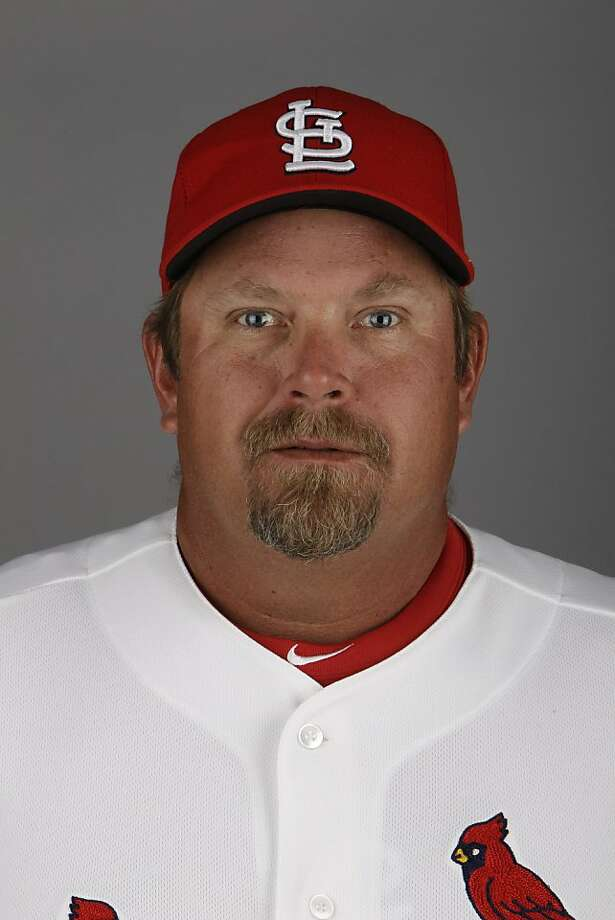 This is a 2011 photo of Derek Lilliquist of the St. Louis Cardinals baseball team.  This image reflects the St. Louis Cardinals' active roster as of Feb. 24, 2011, when this image was taken in Jupiter, Fla. (AP Photo/Jeff Roberson)  Ran on: 11-05-2011 Photo caption Dummy text goes here. Dummy text goes here. Dummy text goes here. Dummy text goes here. Dummy text goes here. Dummy text goes here. Dummy text goes here. Dummy text goes here.###Photo: names05_PHlilliquist1298419200MLBPV AP###Live Caption:This is a 2011 photo of Derek Lilliquist of the St. Louis Cardinals baseball team.  This image reflects the St. Louis Cardinals' active roster as of Feb. 24, 2011, when this image was taken in Jupiter, Fla. (AP Photo-Jeff Roberson)###Caption History:This is a 2011 photo of Derek Lilliquist of the St. Louis Cardinals baseball team. Photo: Jeff Roberson, ASSOCIATED PRESS