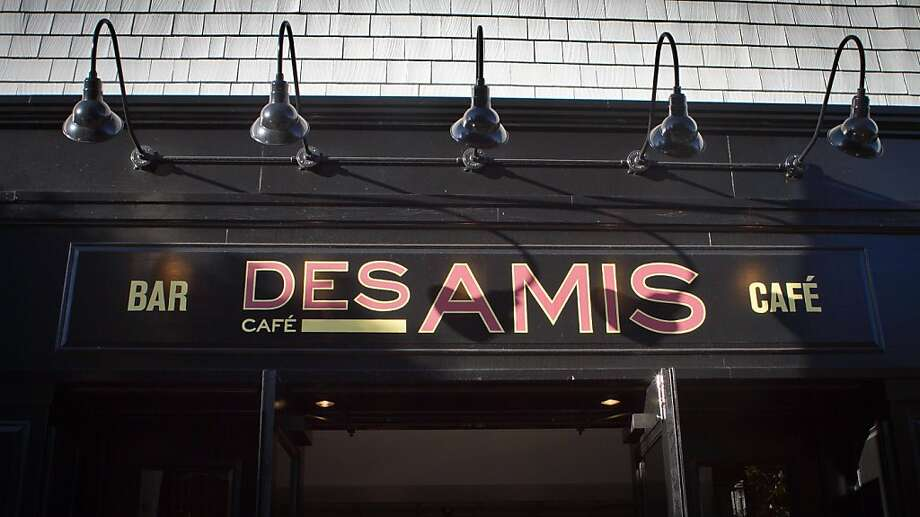 The exterior of Cafe Des Amis in San Francisco, Calif., is seen on Tuesday, November 1,  2011. Photo: John Storey, Special To The Chronicle