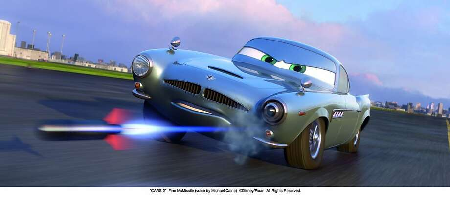 """Cars 2"": Finn McMissile (voice by Michael Caine) ""CARS 2""  Finn McMissile (voice by Michael Caine)  ©Disney/Pixar.  All Rights Reserved.  Ran on: 06-19-2011 Finn McMissile of &quo;Cars 2.&quo; Photo: Disney/Pixar"
