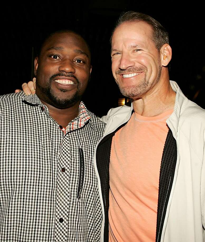 NEW YORK, NY - OCTOBER 13: Former NFL player/TV personality Warren Sapp and former NFL coach/TV personality Bill Cowher attend ZO2's Rock Asylum Benefit Concert at the Hiro Ballroom at The Maritime Hotel on October 13, 2011 in New York City.  (Photo by Mike Lawrie/Getty Images) Photo: Mike Lawrie, Getty Images