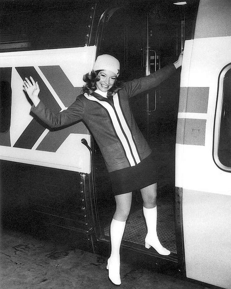 Amtrak train attendant Patty Saunders, in the early days - 1970s.   Amtrak train attendant Patty Saunders, in the early days - 1970s credit: Amtrak archive Photo: Amtrak Archive