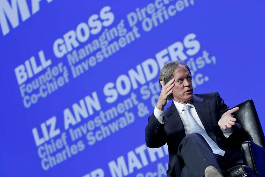 Bill Gross speaks at from Wednesday's IMPACT presentation. Photo: Charles Schwab Public Relations