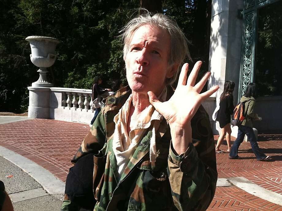 Billie, a self-described performing artist, is seen on the UC Berkeley Campus on Friday, Oct. 28, 2011. Photo: Sara Hayden, The Chronicle