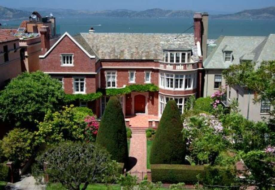 Exterior of 2950 Broadway Pac Heights Tudor mansion which sold for $29.5 million. Photo: Pacific Union