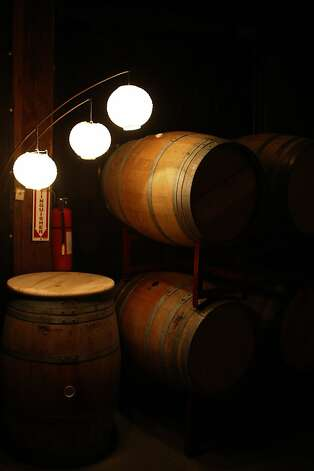 At Vinoce Winery in downtown Napa, Calif., on Tuesday, Oct. 18, 2011. Photo: Dylan Entelis, The Chronicle