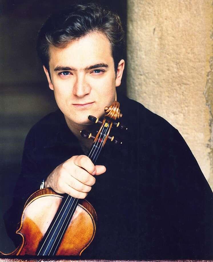 Violinist Renaud Capuçon Photo: Courtesy SF Symphony