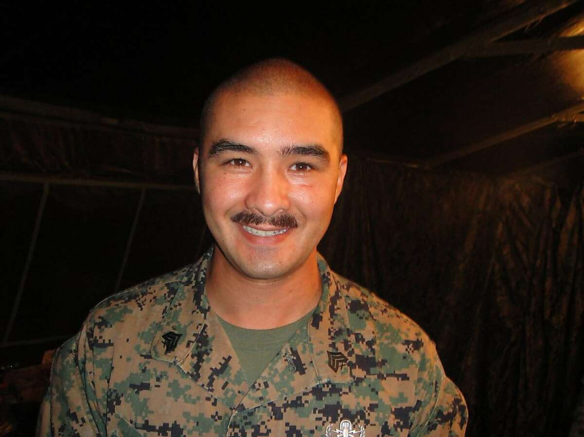 Marine Staff Sgt. Stephen Dunning of Milpitas, who was killed in combat in Afghanistan on Oct. 27, 2011.