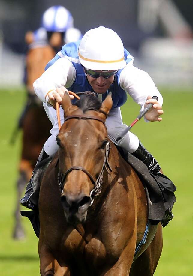 ASCOT, ENGLAND - JUNE 15: Goldikova and Olivier Peslier win The Queen Anne Stakes on the 1st day of Royal Ascot at Ascot racecourse on June 15, 2010 in Ascot, England  (Photo by Alan Crowhurst/ Getty Images) Photo: Alan Crowhurst, Getty Images