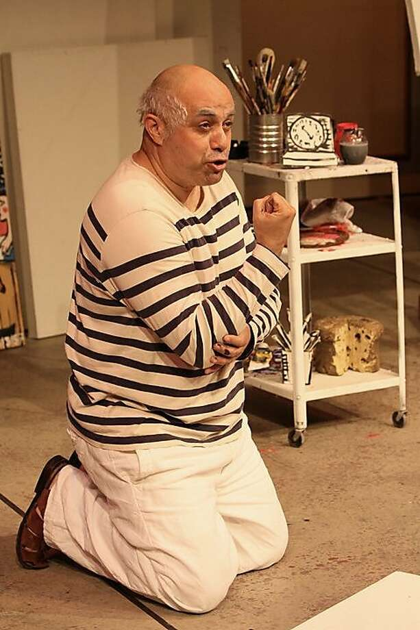 "Herbert Siguenza as Pablo Picasso in his play ""A Weekend with Pablo Picasso"" Photo: Hector Cruz Sandoval"