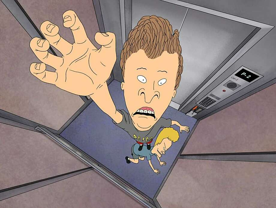 "Here come Beavis and Butt-head back onto the cultural landscape with a return to MTV that begins Thursday at 10 p.m. Now called ""Mike Judge's Beavis and Butt-head, "" to pay homage to the cartoon's creator, the new episodes have the same teenage boneheads lobbing verbal firebombs at current entertainment. Illustrates TV-BEAVIS (category e), by Jen Chaney (c) 2011, The Washington Post. Moved Sunday, Oct. 23, 2011. (MUST CREDIT: MTV)  Here come Beavis and Butt-head back onto the cultural landscape with a return to MTV that begins Thursday at 10 p.m. Now called ""Mike Judge's Beavis and Butt-head,"" to pay homage to the cartoon's creator, the new episodes have the same teenage boneheads lobbing verbal firebombs at current entertainment. Illustrates TV-BEAVIS (category e), by Jen Chaney (c) 2011, The Washington Post. Moved Sunday, Oct. 23, 2011. (MUST CREDIT: MTV) Photo: Mtv"