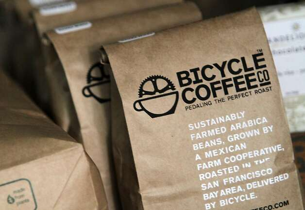 Sustainably harvested coffee beans are what Bicycle Coffee Co., delivers by bicycle on Thursday, Oct. 20, 2011, in San Francisco, Calif. Photo: Mathew Sumner, Special To The Chronicle
